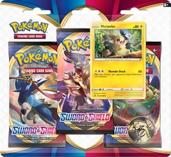 Sword & Shield - Base Set 3 Pack Blister - Morpeko