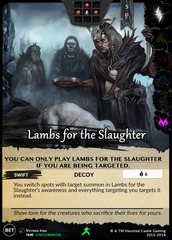Lambs for the Slaughter