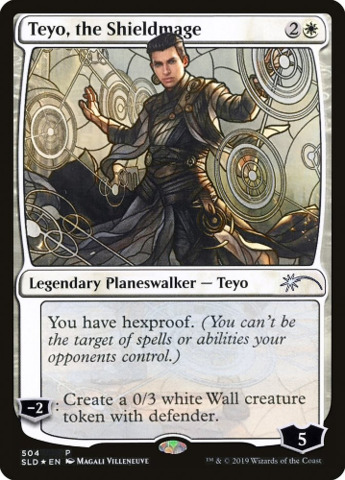 Teyo, the Shieldmage - Foil - Stained Glass