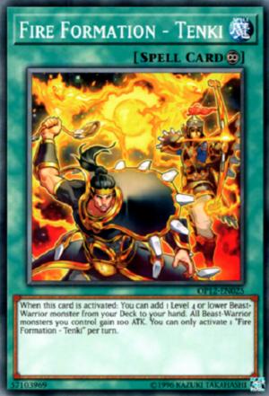 Fire Formation - Tenki - OP12-EN025 - Common - Unlimited Edition