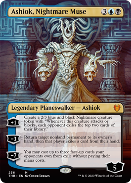 Ashiok, Nightmare Muse - Borderless