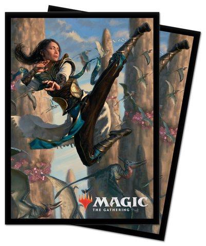 Ultra Pro Deck Protector Sleeves Ikoria Lair of Behemoths Narset of the Ancient Way 100ct