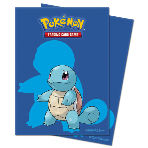 Ultra Pro - Squirtle Deck Protector 65ct (UPR15387)