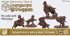Animal Adventures: Tales of Dungeons & Doggies Volume 3