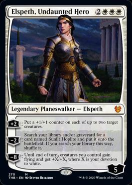 Elspeth, Undaunted Hero - Foil - Planeswalker Deck Exclusive