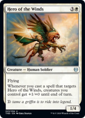 Hero of the Winds - Foil
