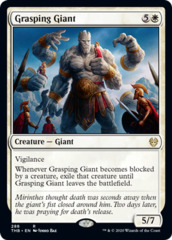 Grasping Giant - Theme Booster Exclusive