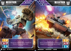 Megatron // Living Weapon (Energon Edition)