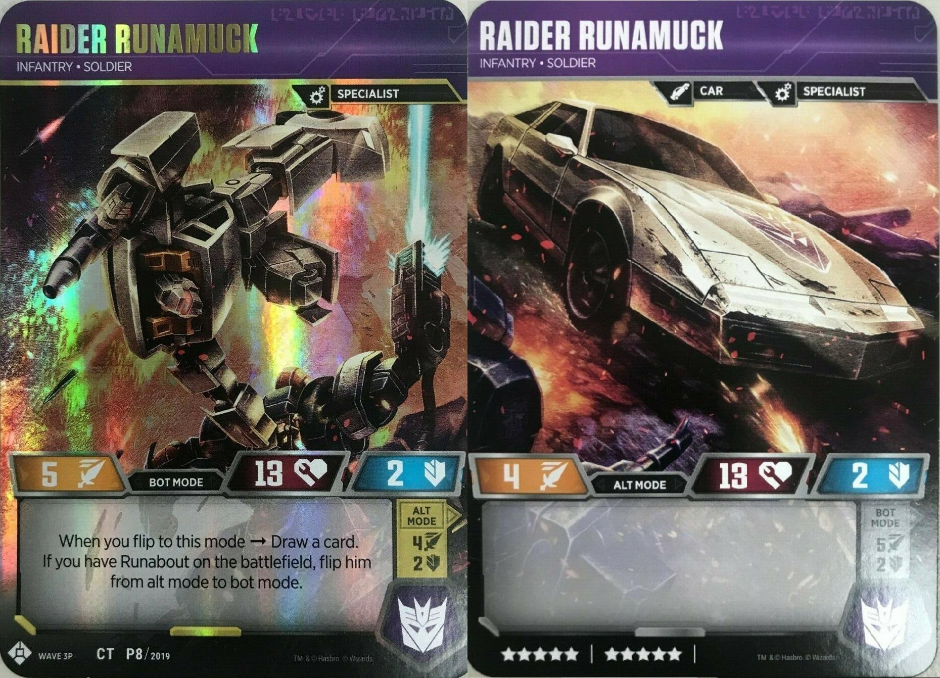 Raider Runamuck // Infantry Soldier (In-Store Play Gold Promo)