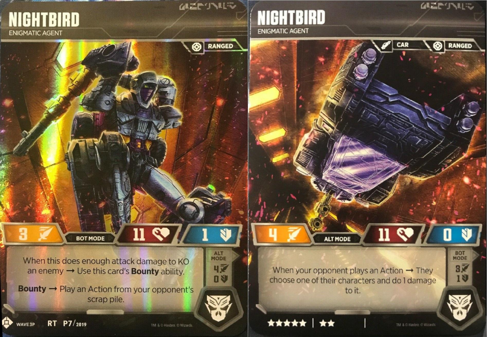 Nightbird // Enigmatic Agent