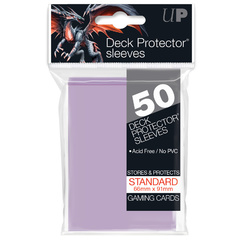 Ultra Pro - 50ct Lilac Standard Deck Protector Sleeves