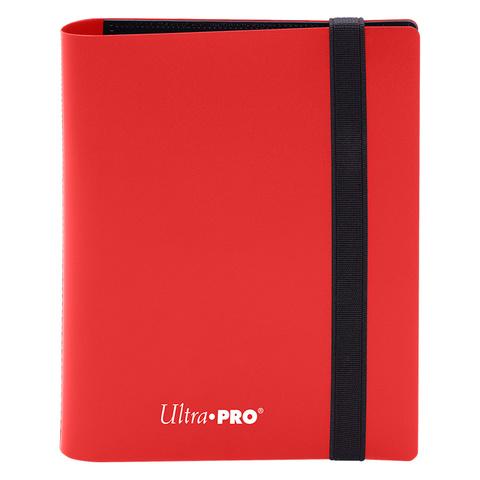 4-Pocket Eclipse Apple Red PRO-Binder - 15379