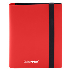 Ultra Pro - 4-Pocket Eclipse Apple Red PRO-Binder