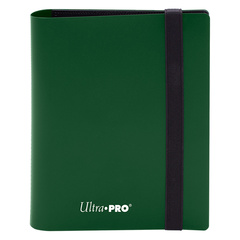 Ultra Pro - 4-Pocket Eclipse Forest Green PRO-Binder