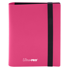 Ultra Pro - 4-Pocket Eclipse Hot Pink PRO-Binder