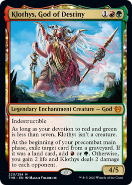 Klothys, God of Destiny - Foil