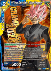 SS Ros Goku Black, Divine Prosperity - P-206 - Championship 2020 Promo