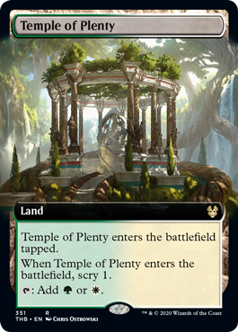 Temple of Plenty (Extended Art) - Foil