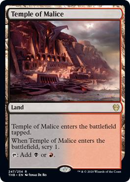 Temple of Malice - Foil