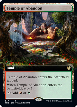 Temple of Abandon (Extended Art) - Foil
