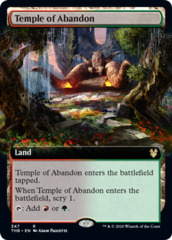 Temple of Abandon - Foil - Extended Art