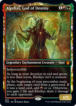 Klothys, God of Destiny (Showcase) - Foil
