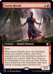 Storm Herald (Extended Art) - Foil