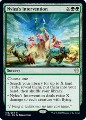 Nylea's Intervention - Foil - Theros Beyond Death
