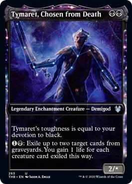 Tymaret, Chosen from Death - Foil - Showcase