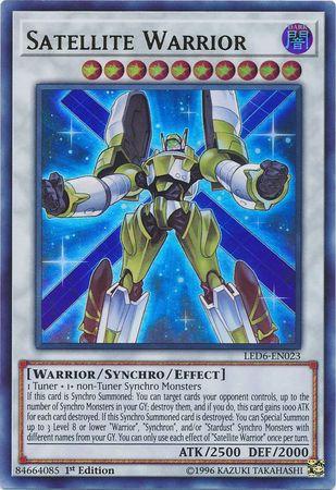 Satellite Warrior - LED6-EN023 - Ultra Rare - 1st Edition