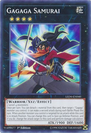 Gagaga Samurai - LED6-EN040 - Common - 1st Edition