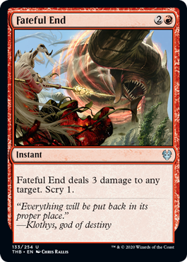 Fateful End - Foil