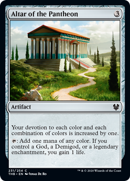 Altar of the Pantheon - Foil
