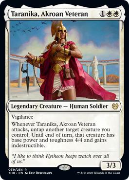 Taranika, Akroan Veteran - Foil