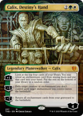 Calix, Destiny's Hand (Borderless) - Foil