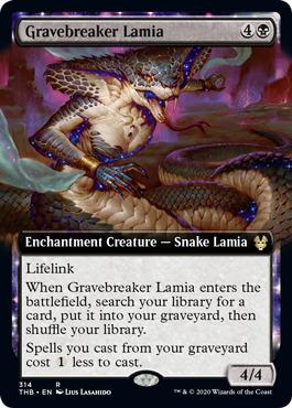 Gravebreaker Lamia (Extended Art) - Foil