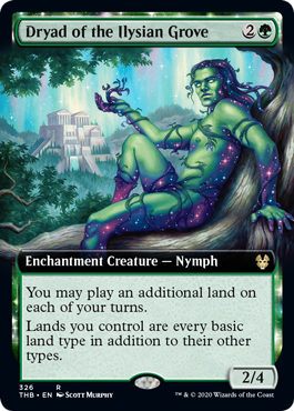 Dryad of the Ilysian Grove (Extended Art) - Foil