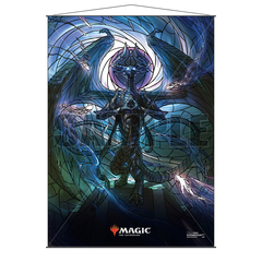 Ultra Pro Wall Scroll: Magic The Gathering - Stained Glass Planeswalkers - Nicol Bolas