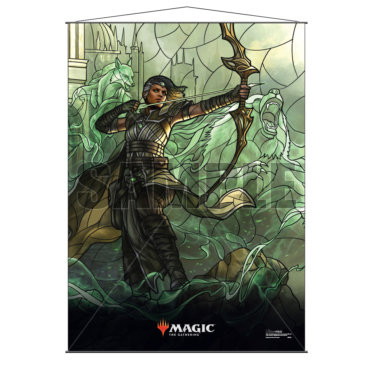 Ultra Pro Wall Scroll War of the Spark Stained Glass Vivien