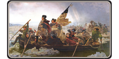 Ultra Pro - Fine Art Playmat: Washington Crossing the Delaware