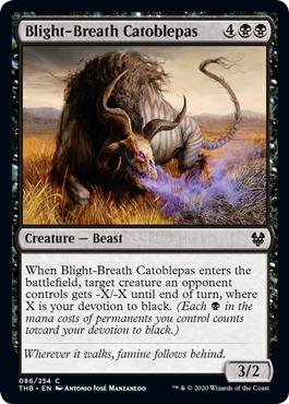 Blight-Breath Catoblepas - Foil