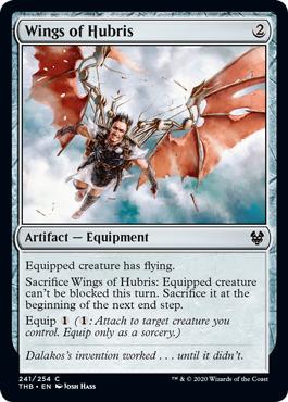 Wings of Hubris - Foil