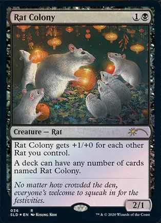 Rat Colony - Foil
