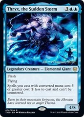 Thryx, the Sudden Storm - Foil - Prerelease Promo
