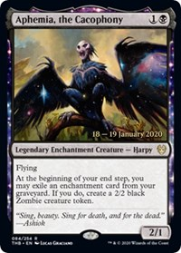 Aphemia, the Cacophony - Foil - Prerelease Promo