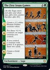 The First Iroan Games - Foil - Prerelease Promo