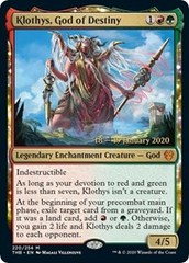 Klothys, God of Destiny - Foil - Prerelease Promo
