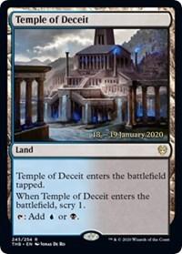 Temple of Deceit - Foil - Prerelease Promo
