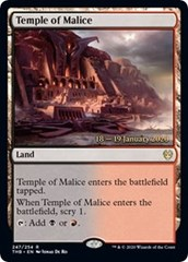Temple of Malice - Foil - Prerelease Promo