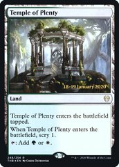 Temple of Plenty - Foil - Prerelease Promo